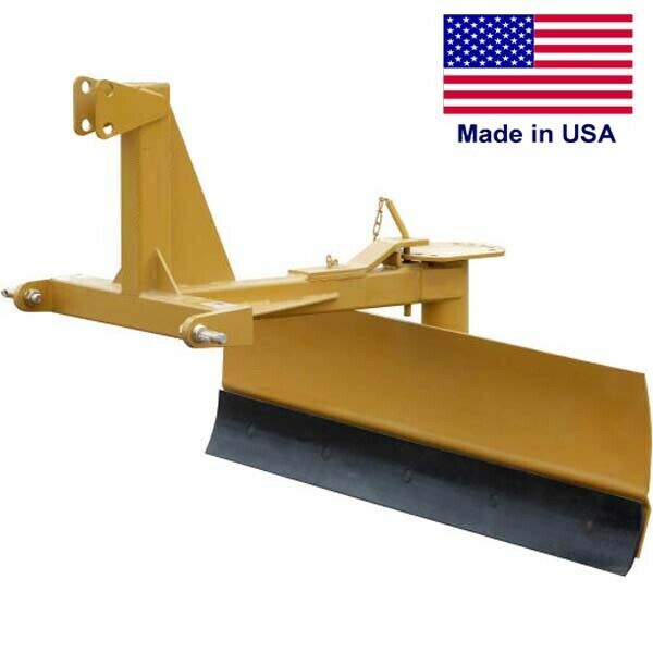 5 ft GRADER - Tractor - Category 1 - 3 Point Hitch - 20 to 50 HP Required - 60""