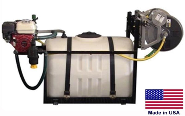150 Gallon SKID SPRAYER - Steel - 300ft Hose - 5.5 HP - 560 PSI - 12.5 GPM - Gun