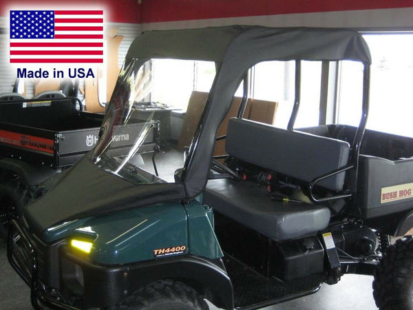 Bush Hog TH 4400 Vinyl Windshield and Roof Combo - Top - Canopy - Commercial