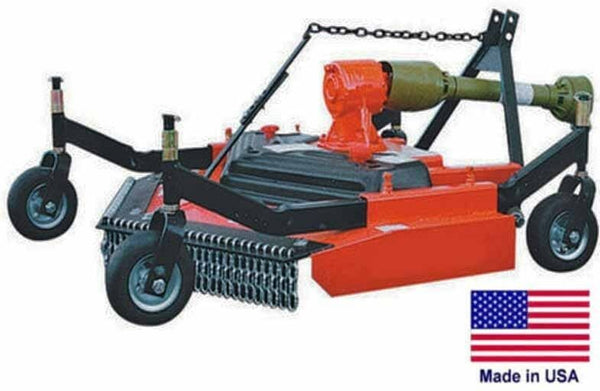 "FINISH CUT MOWER - Commercial - 3 Point Hitch Mounted - PTO Driven - 48"" Cut"