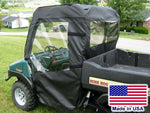Bush Hog 4400 DOORS & REAR WINDOW - Stow Away Doors - Marine Grade Textile