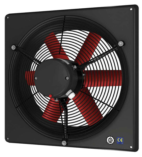 "24"" EXHAUST FAN - Corrosion Resistant - 7114 CFM - 230 Volts - 1 Phase - 1 HP"
