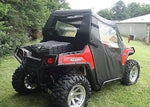 DOORS & REAR WINDOW Combo for Polaris RZR 570, 800, 800s, & 900 - Soft Material