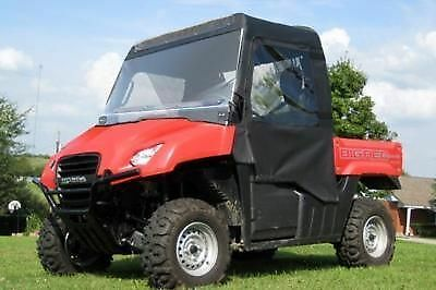Honda Big Red MUV 700 FULL ENCLOSURE for OEM Existing Windshield - Soft Material