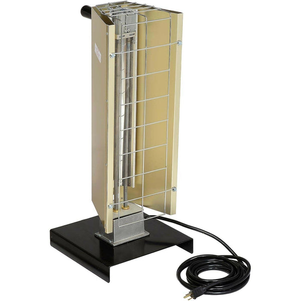 Portable Infrared HEATER - 6143 BTU - 120 Volt - 1 Phase - Prewired - Commercial