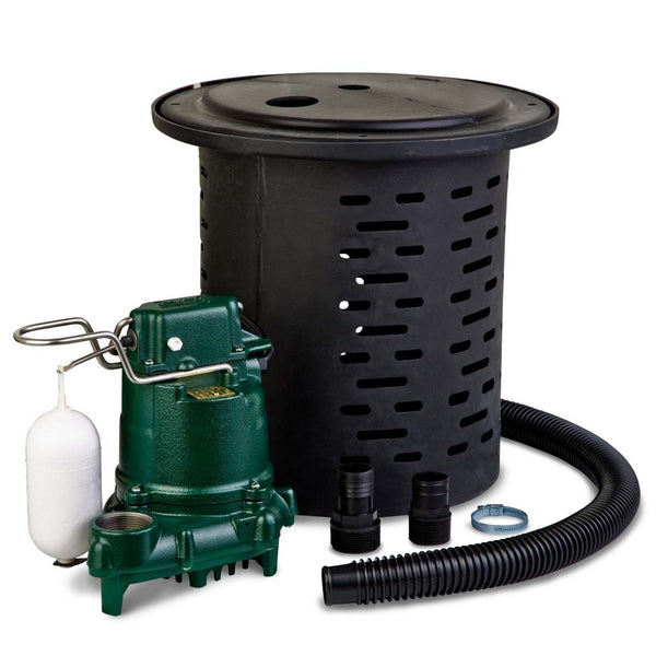 Submersible Crawl Space Pumping System - 115 Volts - 9.7 Amps - 1/2 HP - 24 GPM