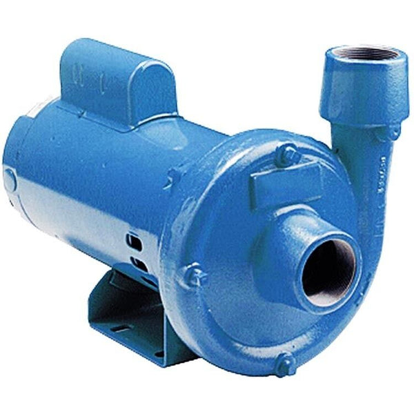 Centrifugal Pump - 46 GPM - 115/230V - 1/2 HP - 1 Ph - Cast Iron - End Suction