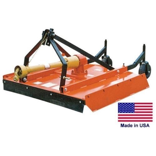 "FIELD & BRUSH MOWER Rotary Cutter - 3 Point Hitch Mounted - PTO Driven - 48"" Cut"