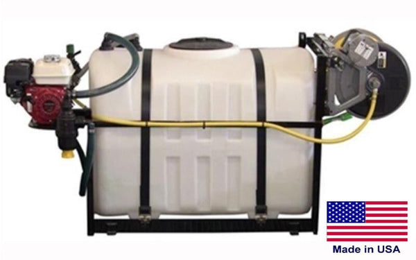 200 Gallon SKID SPRAYER - Steel - 300ft Hose - 5.5 HP - 560 PSI - 12.5 GPM - Gun