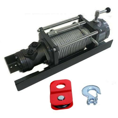 Hydraulic TOW TRUCK Winch - 10,000 lbs Capacity - 1,813 PSI - 4 to 10.6 GPM