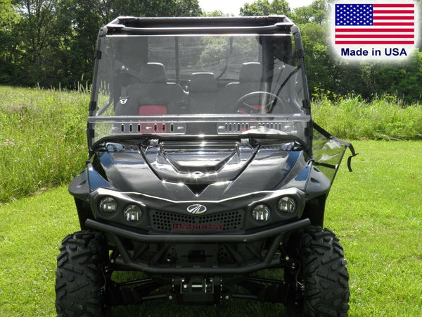 HARD WINDSHIELD for Mahindra mPACT XTV 750 1000 - Lexan - Travels Highway Speeds