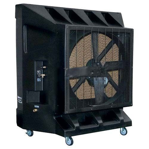"Portable Evaporative Cooler - 36"" -  Belt Drive - Single Speed - 5 Amps"