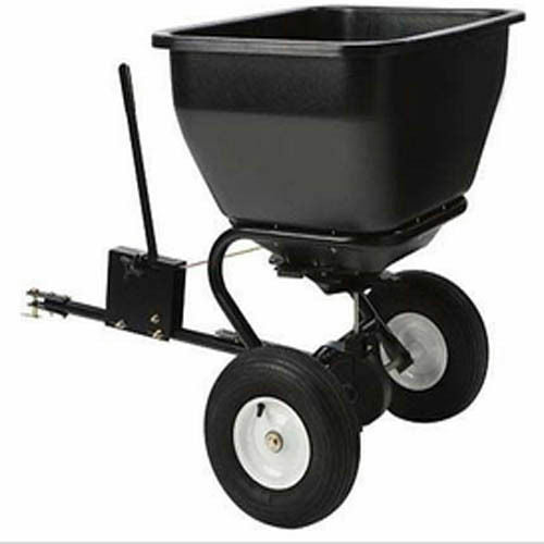 Industrial Broadcast Spreader - 175 Lbs Capacity - Tow behind - Salt, Sand, Etc