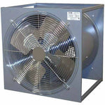 "18"" Portable Utility Box Fan - 3,700 CFM - 1/3 HP - 1,725 RPM - TOTALLY ENCLOSED"