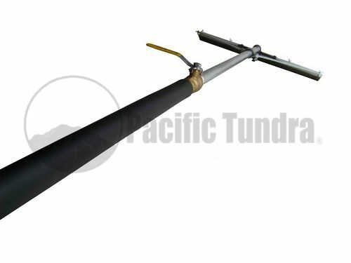 Asphalt Sealcoating Power Squeegee - Brush - Commercial & Industrial Quality