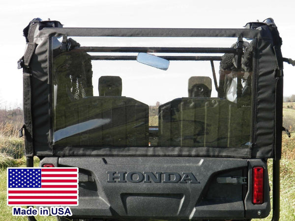 Rear Window and Top for Honda 700-4 - Canopy - Roof - Commercial Industrial Duty