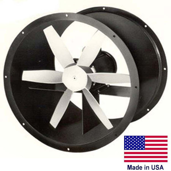 "48"" Explosion Proof Exhaust Fan 3 PH, 3 HP, 1140 RPM 28600 CFM, 230/460, 4 Blade"