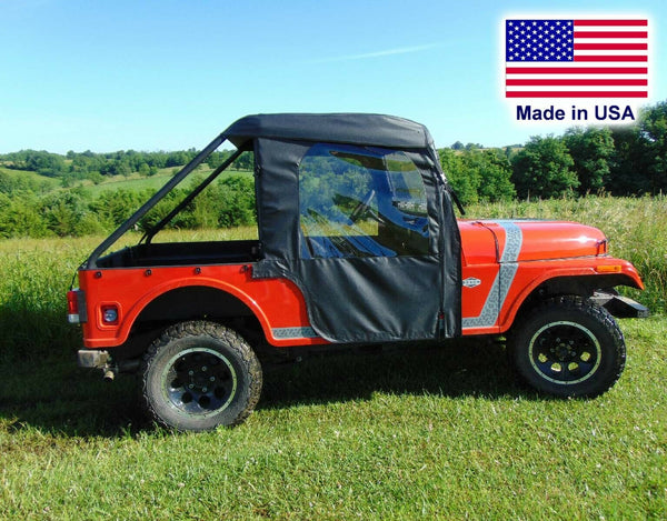 Mahindra Roxor Cab for Existing Windshield - DOORS - ROOF - HARD REAR WINDOW