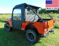 Mahindra Roxor ENCLOSURE - SOLID Hard Windshield, Roof, Doors, Rear & BED COVER