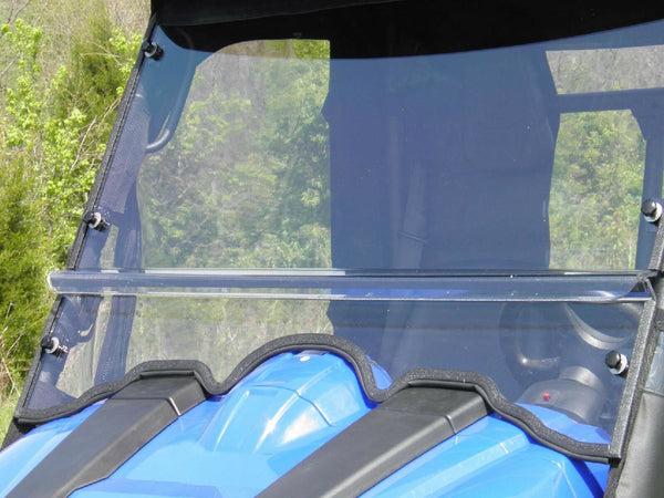 HARD WINDSHIELD for Massimo 500 / 700 - Polycarbonate - Travels Highway Speeds