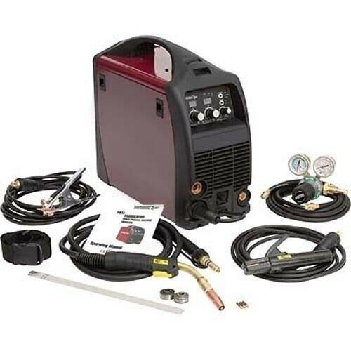 Multiprocess Welding System - 180 Amps - 208/230 AC - Wire Feed Speed 100–650IPM