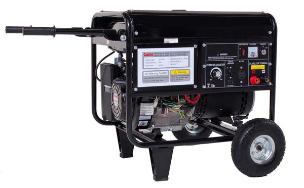Welder and Generator Combo - Gas - 4000 W - 120 Volts - 6.5 Gal - 10 HR Run Time