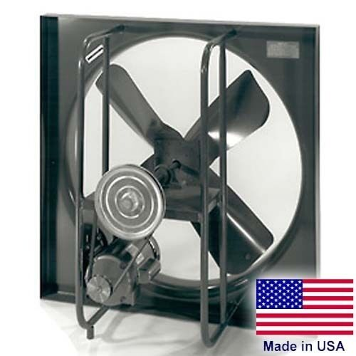 "24"" Exhaust Fan - 3 PH, 1 HP, 7800 CFM, 1725 RPM, 230/460V, 4 Blades, Enclosed"