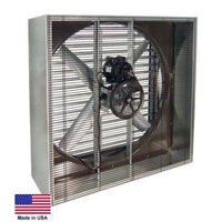 "36"" EXHAUST FAN - Industrial - Belt Drive - 230/460V - 12,200 CFM - 3 Ph 1/2 Hp"