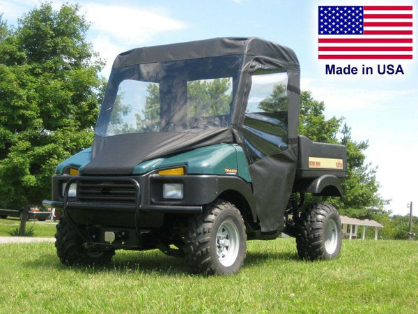 Bush Hog TH 4400 Full Enclosure - VINYL WINDSHIELD, Roof, Doors, Rear Window