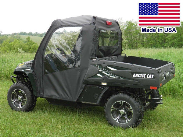 Arctic Cat Prowler DOORS and REAR WINDOW Combo - Zip Down Windows - Soft Doors