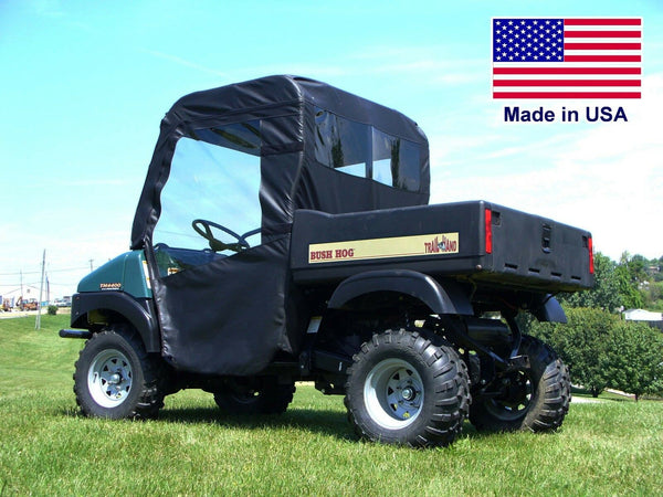Bush Hog Trail 4400 Enclosure for EXISTING WINDSHIELD - Roof, Doors, Rear Window