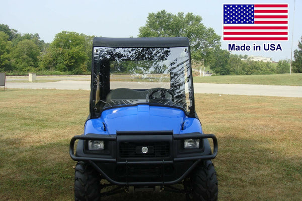 HARD WINDSHIELD for New Holland Rustler 115 / 120 / 125  - Travels Highway Speed