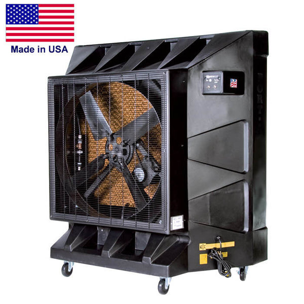 "36"" Portable AIR CONDITIONER - 32 Gallons - 115 Volts - 9600 CFM - Commercials"