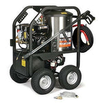 Portable Hot Water Pressure Washer Gas  - 2,400 PSI - 2.7 GPM - 12V DC Burner