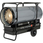 Portable Heater KEROSENE or DIESEL - 650,000 BTU - 3600 CFM - 13,500 sqft - 120V