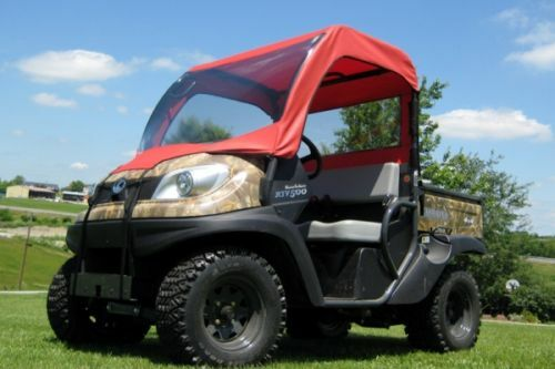 Vinyl Windshield, Canopy & Rear Window for Kubota RTV 500