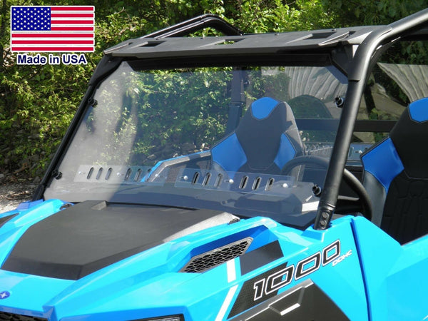 HARD WINDSHIELD for Polaris General  - Travels Highway Speeds - Polycarbonate