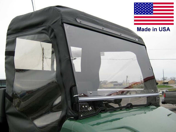 Bush Hog TH 4400 HARD WINDSHIELD - Heavy Duty Polycarbonate - Highway Ready