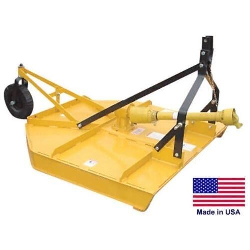 FIELD & BRUSH MOWER Rotary Cutter - 3 Point Hitch Mounted - PTO Driven - 48""