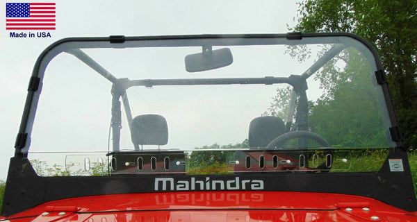 Mahindra Roxor VENTED HARD WINDSHIELD - Polycarbonate - Travels Highway Speeds