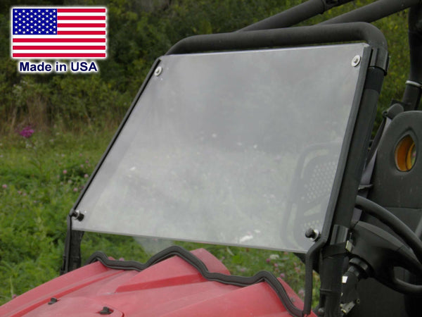 Hard Windshield for HiSun Massimo 800 - Polycarbonate - Travels Highway Speeds
