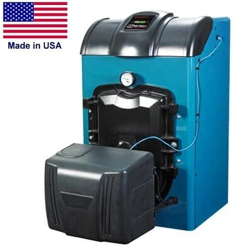 Oil Fired Boiler - 129,000 BTU - Hot Water - 120 Volts - 60 hz - Spark Ignition
