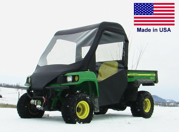 Full Enclosure for John Deere TS TX - VINYL Windshield, Roof, Doors, Rear Window