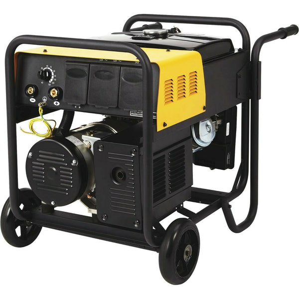 ARC WELDER & GENERATOR Combo - Gas - 40 to 130 AMP DC Weld - 4.5 kW - 6 HR Run