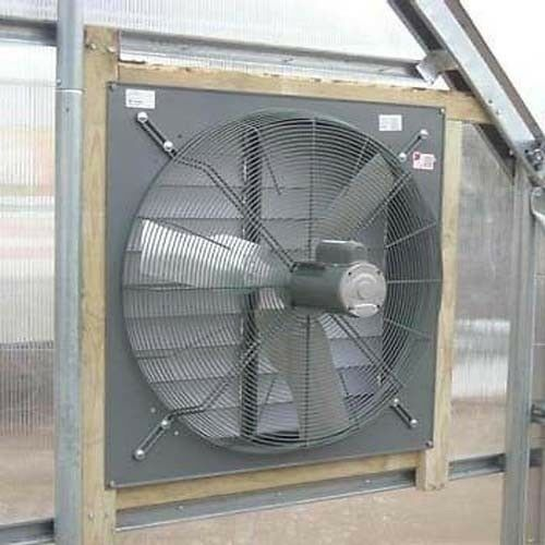 "30"" Exhaust Fan with Louver Shutter - 8,000 CFM - 115/230V - 1/2 HP - 1 Phase"