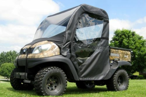 Full Enclosure with Vinyl Windshield for Kubota RTV500