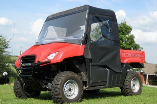 Honda Big Red MUV 700 FULL CAB for EXISTING WINDSHIELDS - Doors - Rear - Roof