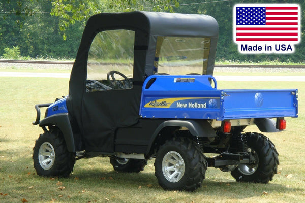 New Holland Rustler Enclosure for Existing Windshield - DOORS, ROOF, REAR WINDOW