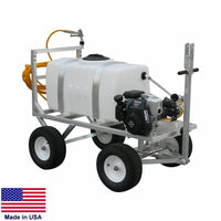 SPRAYER Commercial - Trailer Mounted - 50 Gallon Tank - 5 GPM - 275 PSI - 5 Hp