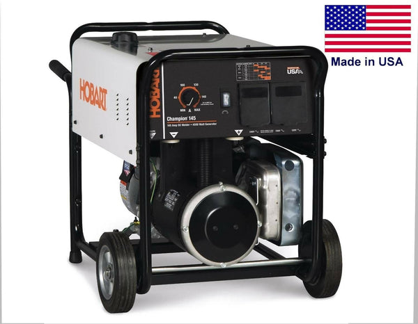 Portable Generator & Welder - 4500 Watts - 145 Amp DC Weld - 6 Gallon Cap & More